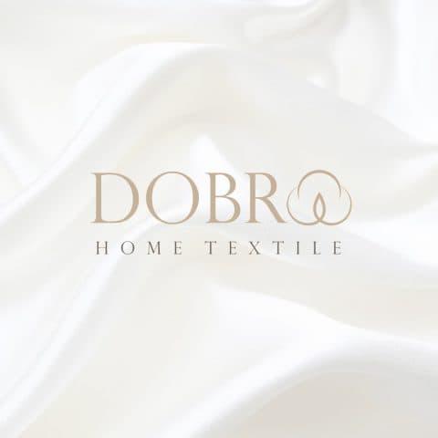 Разработка логотипа для текстильной компании Dobro
