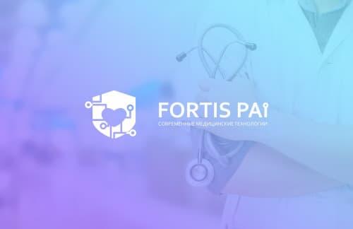 Разработка логотипа компании поставщика медицинского оборудования